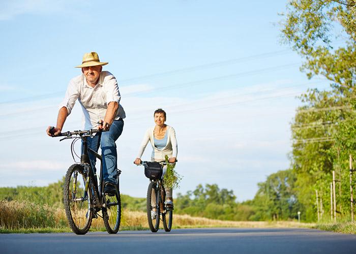 Balade à vélo à Alba-la-Romaine